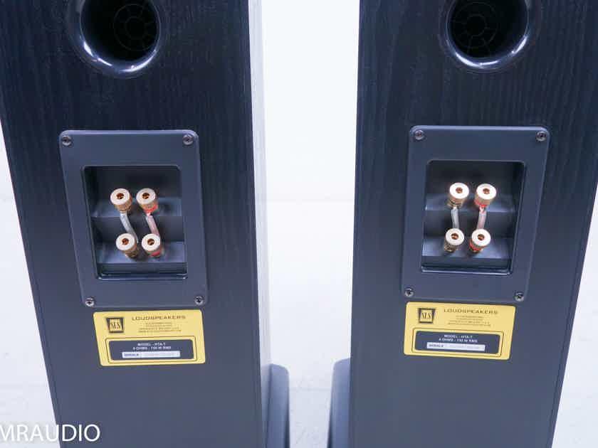 SLS Audio HTA-T Floorstanding Speakers; Black (11793)