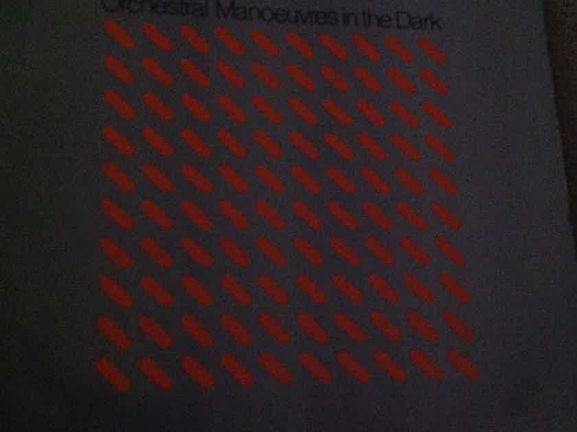 Orchestral Manoueuvers In The Dark - O.M.D. Virgin Epic Records CX Encoded Vinyl LP NM