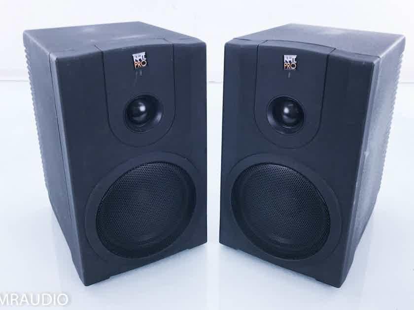 NHT Pro M-00 Powered Bookshelf Speakers Black Pair (15005)