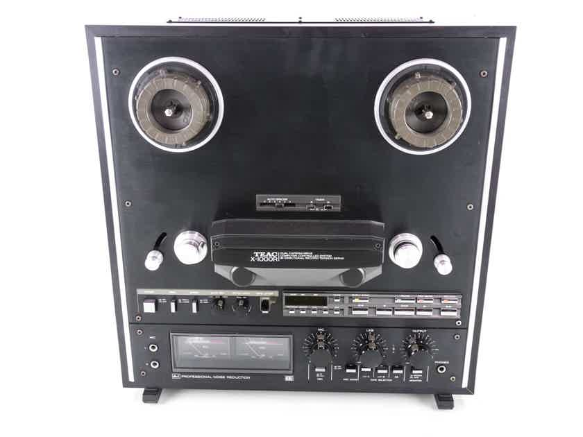 Teac X-1000R Reel to Reel Player; Tape Recorder; AS-IS (Pinch Rollers Stick) (20890)