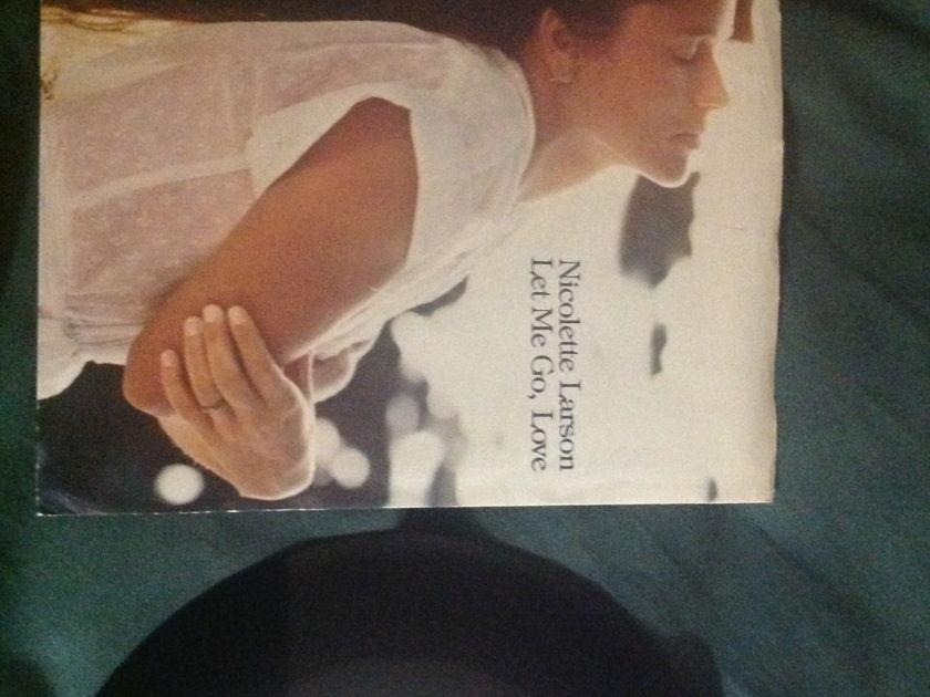 Nicolette Larson - Let Me Go, Love 45 With Sleeve