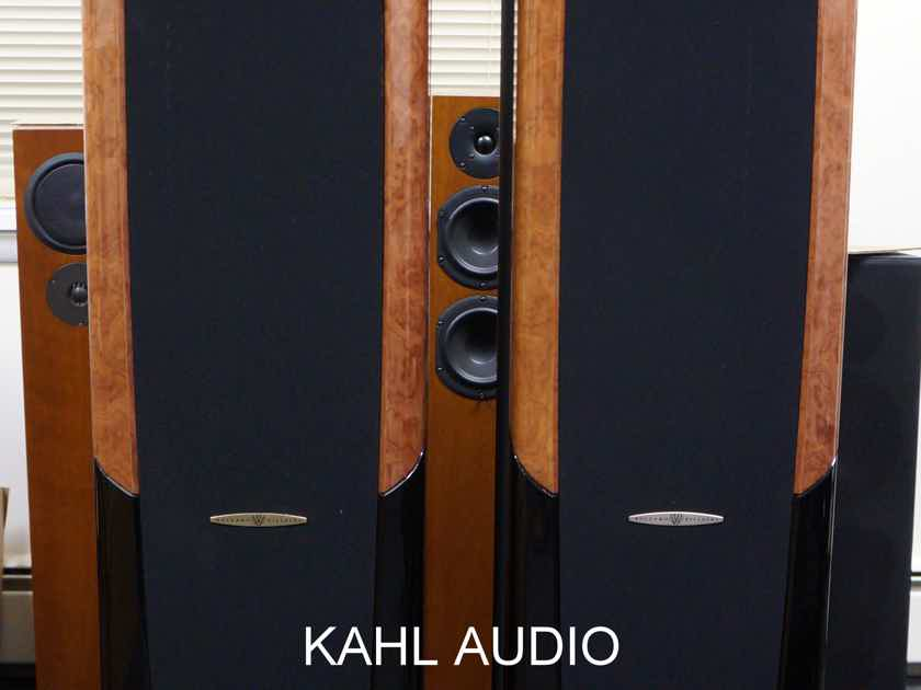 Bolzano Villetri SRL Campanille Torre HF 3005 floorstanding speakers. DEMO. $15,000 MSRP