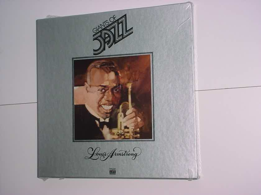 SEALED Giants of Jazz lp record box set Louis Armstrong TIME LIFE