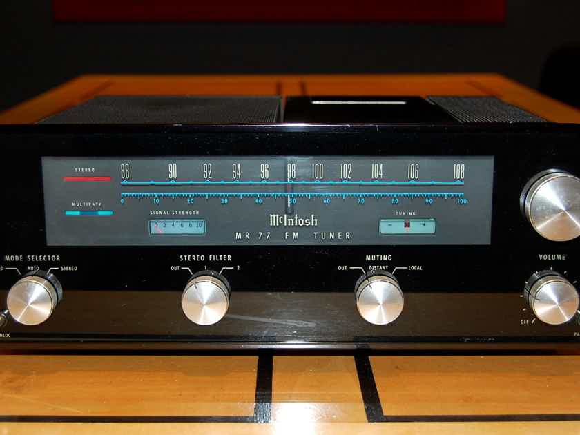 McIntosh MR-77 FM stereo tuner