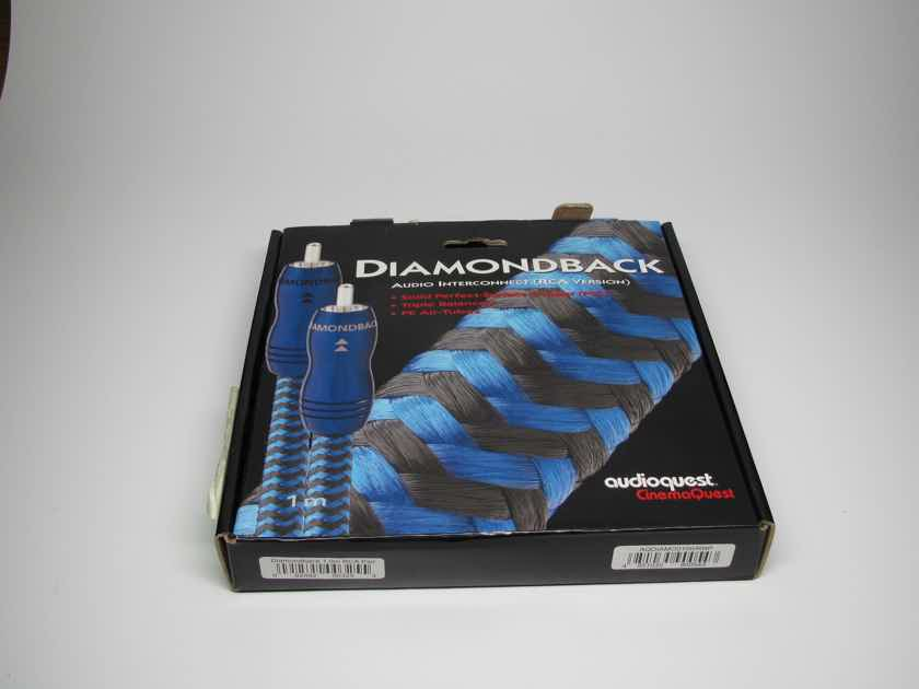 AudioQuest Diamondback Interconnect 1.0m