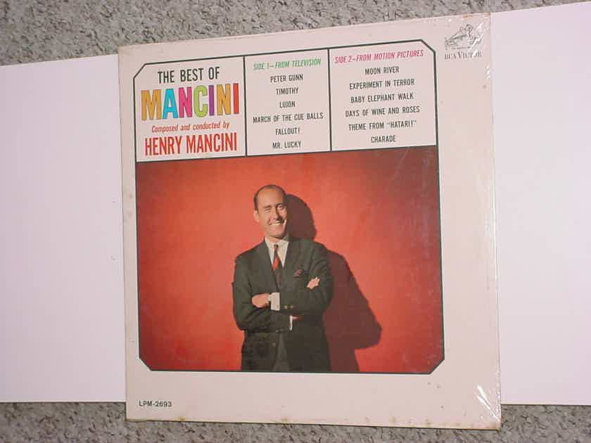Sealed The best of Mancini lp record Henry Mancini RCA LPM-2693 MONO SEE ADD