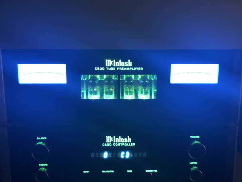 Mcintosh C500 Tube Preamplifier Excellent Condition
