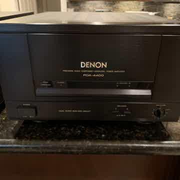 Denon - POA-4400 Monos + PRA-1100 Preamp - Customer Con...