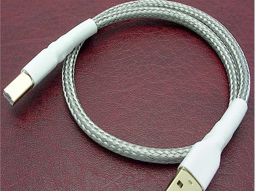Cabledyne Premier USB OCC Silver