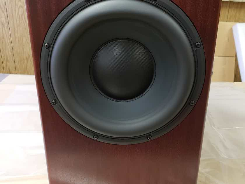 Totem Acoustic Thunder II 500Watt Power Subwoofer - Mahogany Finish - DEMO