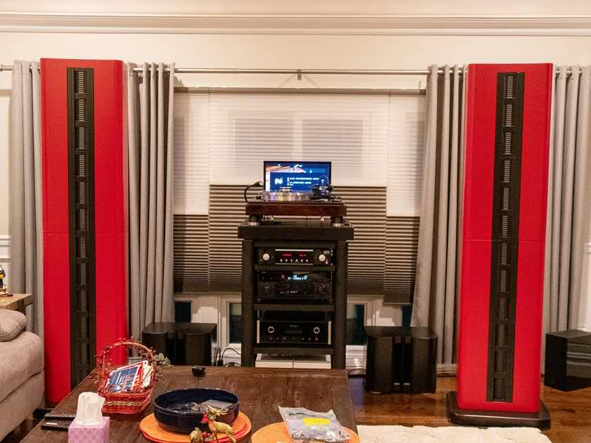 Apollo Speakers are designed and built in the USA - High Sensitivity - OB - Line Source - AMT Based System -  We are available online or by phone to discuss our products. Dealer inquiry is welcome!