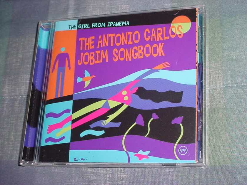 The Antonio Carlos Jobim Songbook cd The Girl from Ipanema 1995 verve