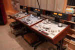 "3 Studer A-820 Master Recorders, one 1/2"", one 1/4"", and one with both 1/4"" and 1/2"" heads, guides and hubs."