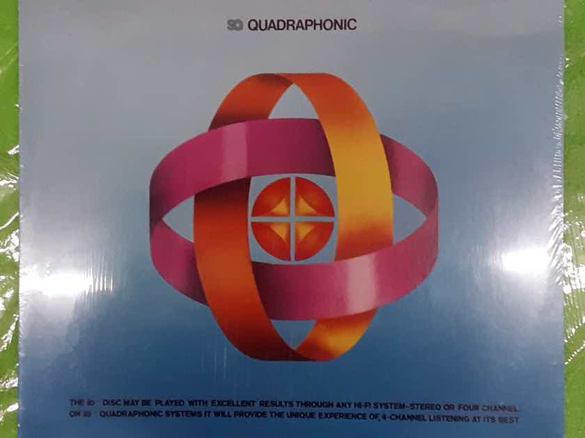 SQ Quadraphonic Various Artists Sampler - MINT SEALED Vinyl LP 1973 Columbia Special Products PQ11650