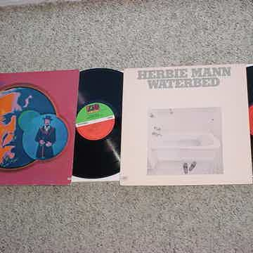 JAZZ Herbie Mann 2 lp records Mississippi Gambler & Waterbed