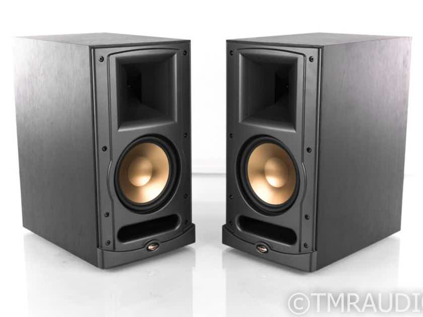 Klipsch Reference Series RB-61 Bookshelf Speakers; Black Ash Pair; Ref IV (21967)