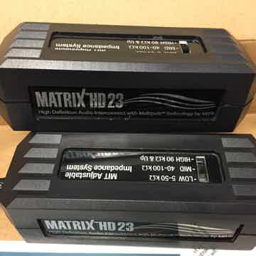 MIT Matrix HD23 Interconnects