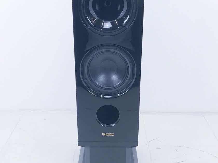 Sunny Cable Technology H2W8  Speaker; Single; Black (3057)