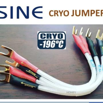 SINE AUDIO Cryo -196'C Gold-plated Jumpe