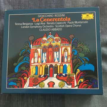 Gioacchino Rossini Claudio Abbado  La Cenerentola Cd box set Deutsche Grammophon