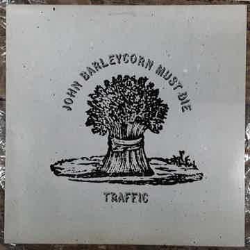 Traffic - John Barleycorn Must Die 1982 NM Vinyl LP Rei...