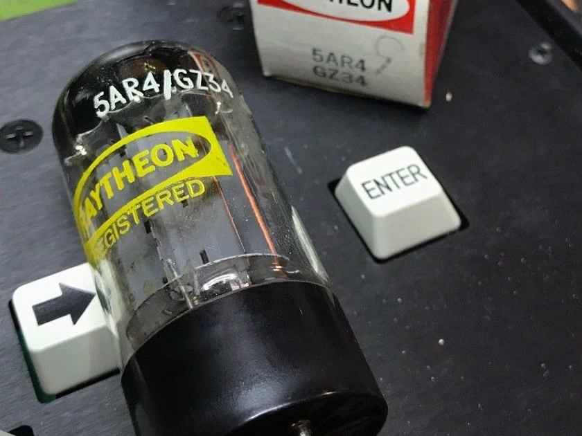 Mullard Blackburn gz34/ 5ar4 rectifier tube