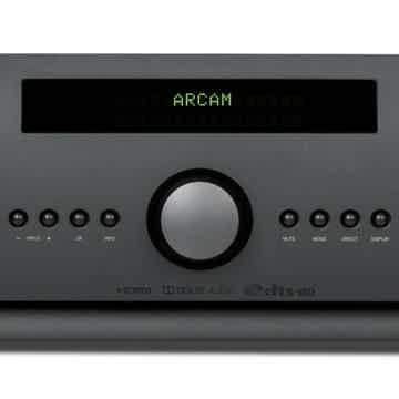 Stereo AV Receiver (Black):