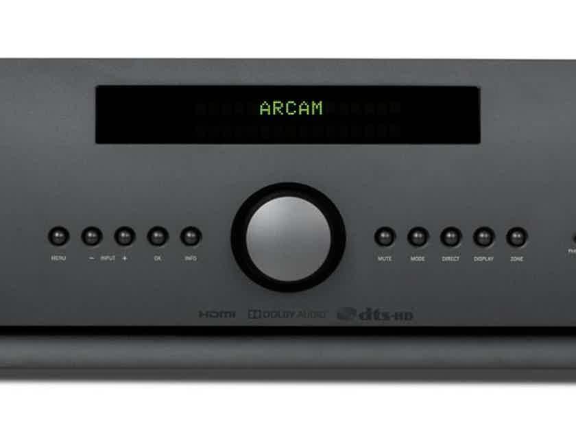 ARCAM SR250 Stereo AV Receiver (Black): Excellent DEMO; Full Warranty; 60% Off; Free Shipping