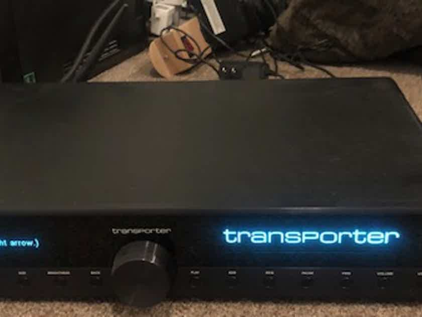 Logitech Transporter (audiophile music server) like-new with upgraded Squeezebox Music Controller remote