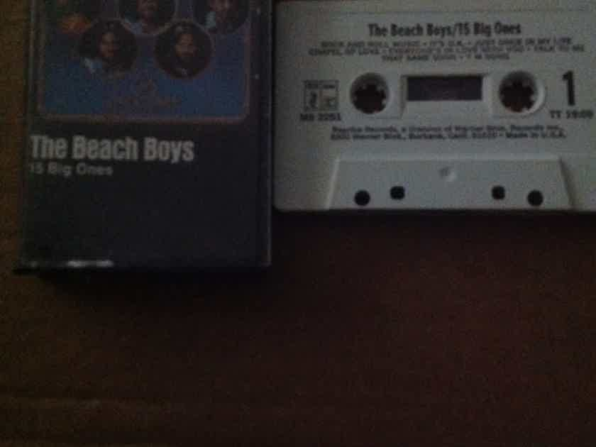 The Beach Boys - 15 Big Ones Brother Records Pre Recorded Cassette