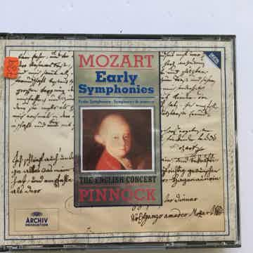 Mozart Pinnock Early symphonies Archiv digital Cd set 1993