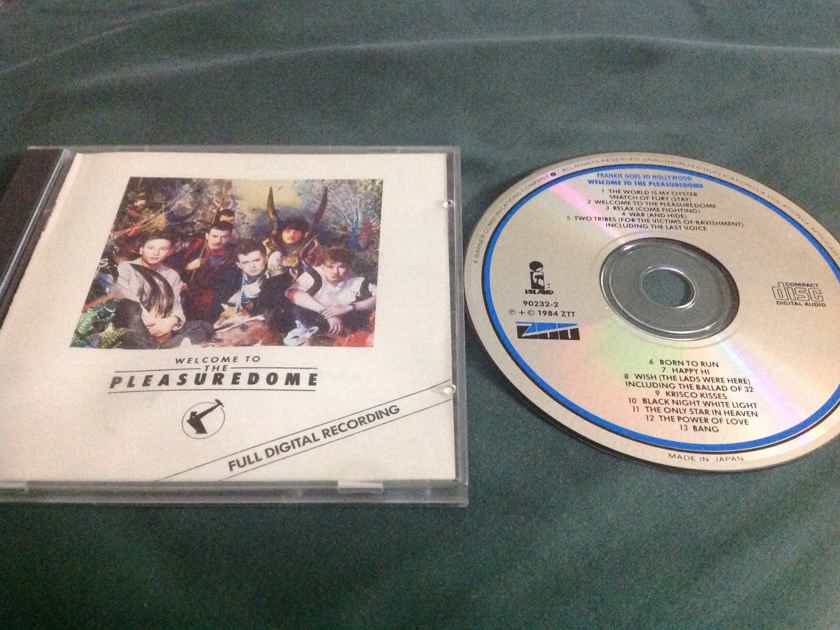 Frankie Goes To Hollywood - Welcome To The Pleasuredome ZZT Island Records Japan For USA Compact Disc Trevor Horn