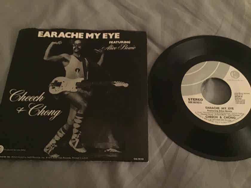 Cheech & Chong 45 With Picture Sleeve Vinyl NM Ode Records