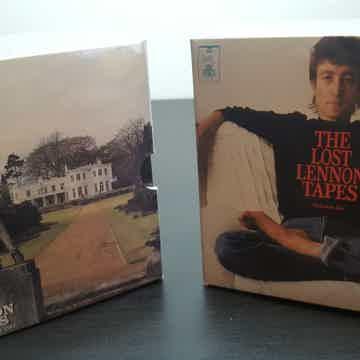 BEATLES JOHN LENNON MINI LP CD LOST LENNON TAPES BOX SET