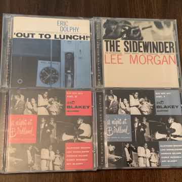 Blue Note RVG Lot 4 Dolphy Morgan Blakey Brownie Silver...