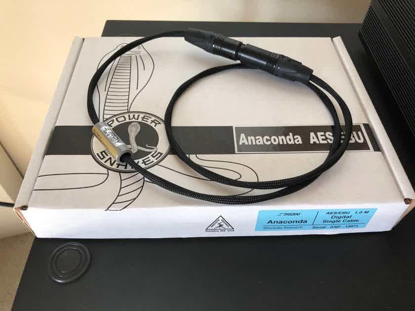 Shunyata Research Zitron Anaconda Digital XLR 1m MINT