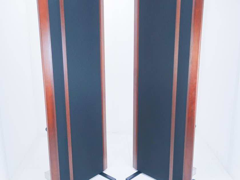 Magnepan MG 20.1 Planar Floorstanding Speakers; Black / Cherry Pair (New Tweeters) (20118)