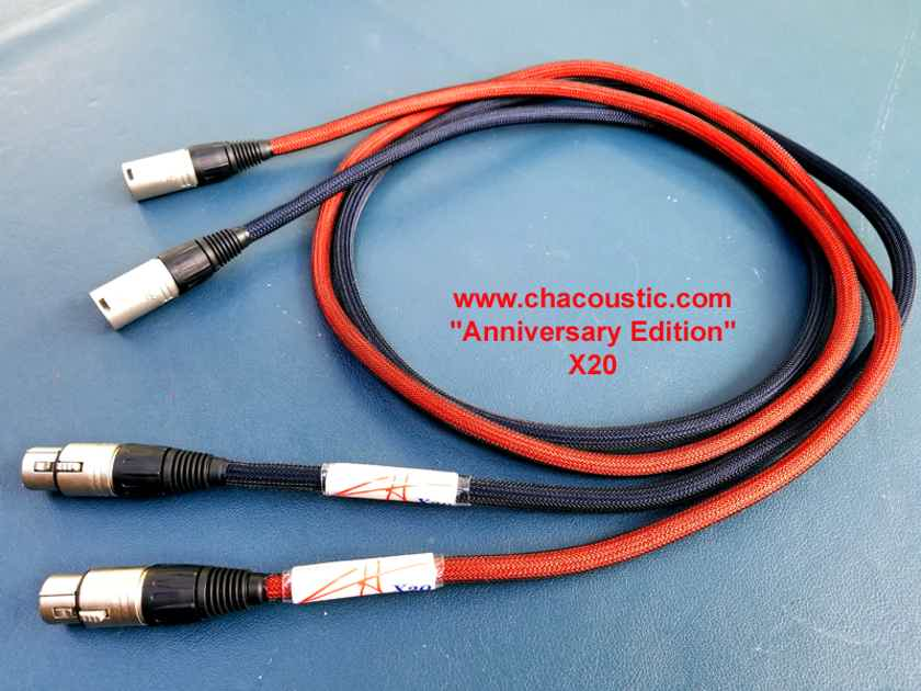 CH Acoustic X20 Anniversary Edition 1.4m XLR | Interconnects | Audiogon
