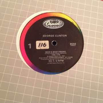 George Clinton  Man's Best Friend/Atomic Dog 12 Inch Ca...