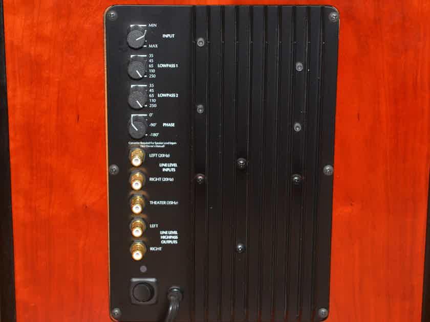 ACI Audio Concepts Inc. Emerald XL monitors, Force XL subwoofer