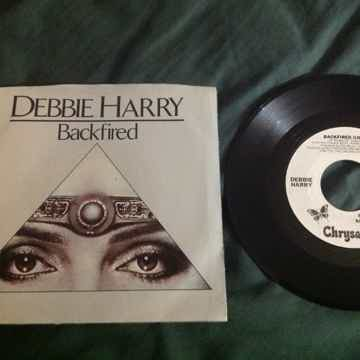 Debbie Harry - Backfired Promo 45 With  Sleeve Long/Sho...