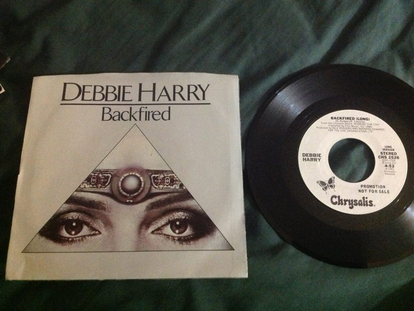 Debbie Harry - Backfired 45 With Sleeve Long/Short Version