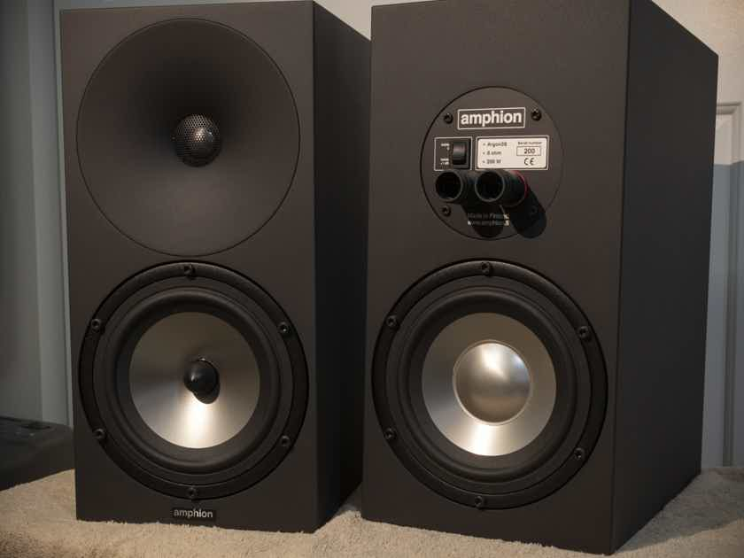 SOLD - Amphion Argon 3S monitors, Black, excellent condition - Lower Price