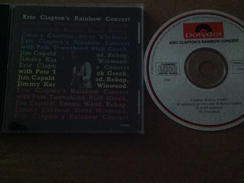 Eric Clapton - Eric Clapton's Rainbow Concert Polydor Records Original Mix 6 Track Compact Disc
