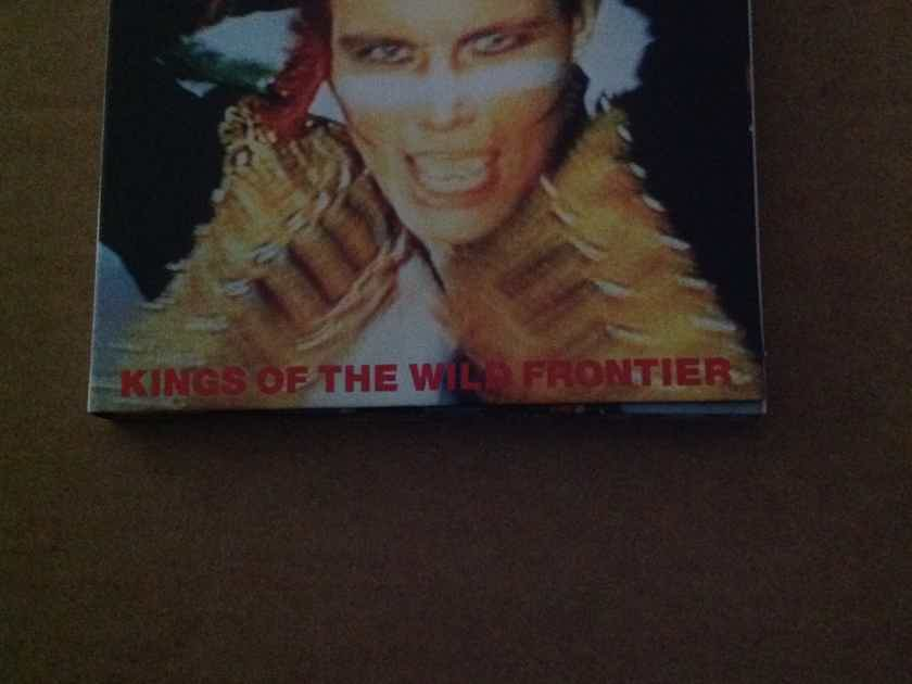 Adam And The Ants - Kings Of The Wild Frontier 2 Compact Disc Set CBS Sony Records