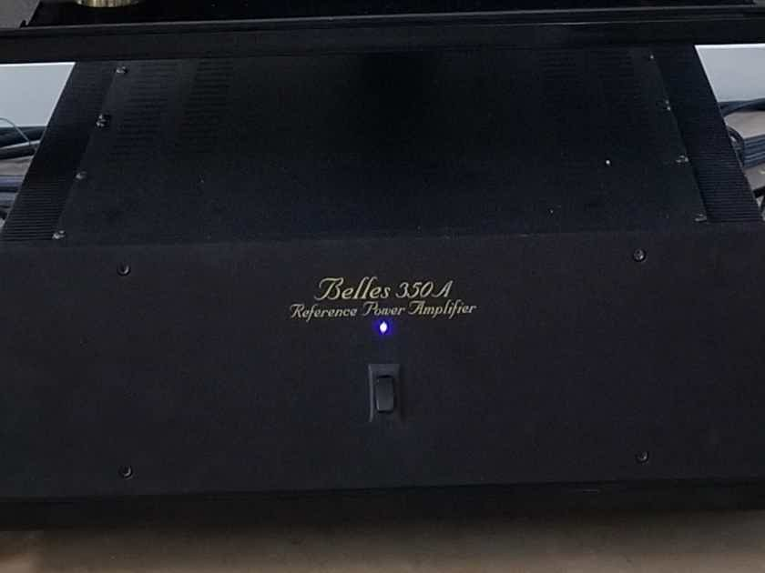 Belles 350 A Reference Stereo Amp