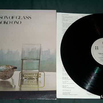 Yoko Ono - Season Of Glass LP NM Quiex II Colored Vinyl...