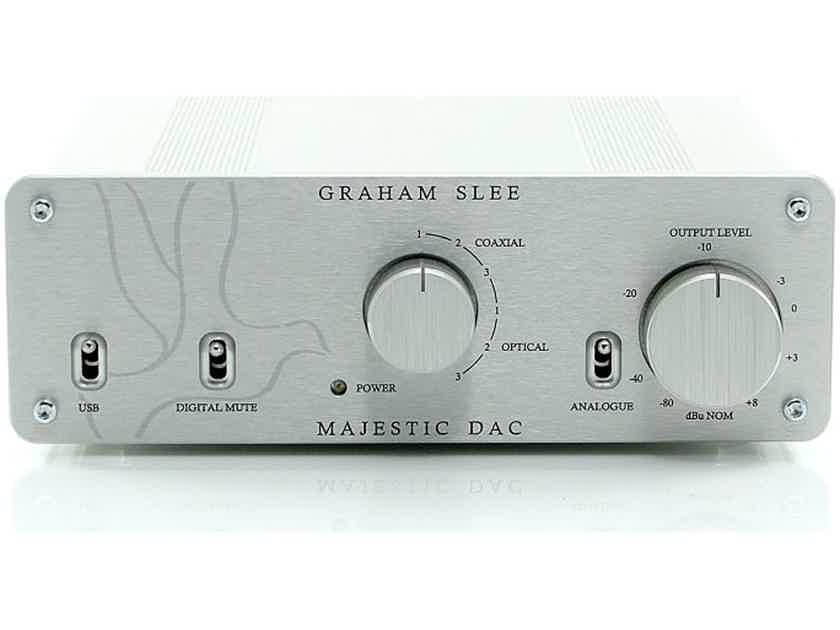 Graham Slee Majestic DAC / Preamplifier; D/A Converter (New) (22873)