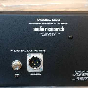 Audio Research Reference CD9