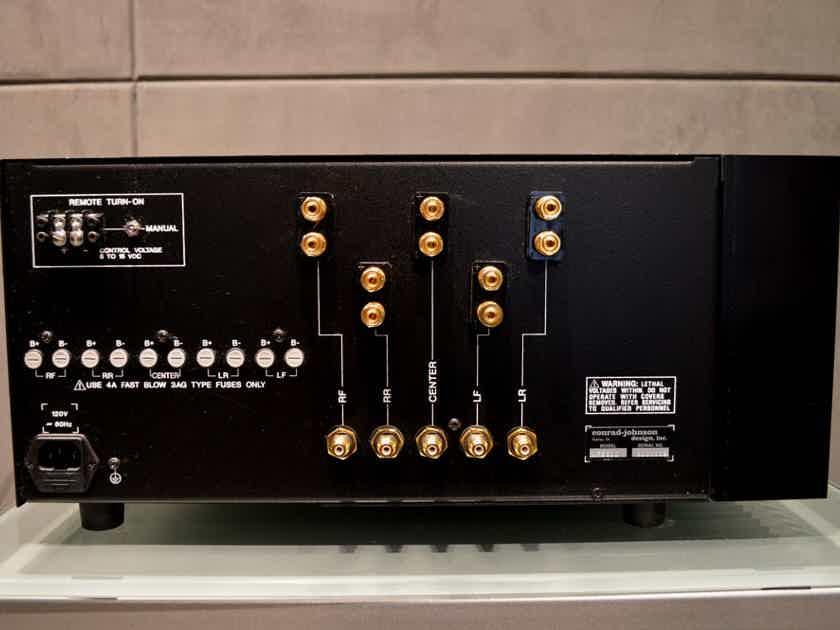 Conrad Johnson MF-5600 - 5 Channel X 120 Watt (8 Ohms) Power Amplifier